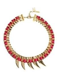 Collar de perlas rosado