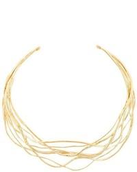 Collar dorado de Aurelie Bidermann