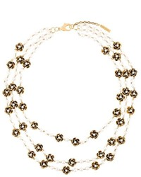 Collar dorado de Marc Jacobs