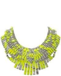 Collar en amarillo verdoso de Tom Binns