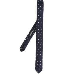 Corbata a lunares azul marino de Dolce & Gabbana