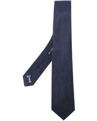Corbata azul marino de Giorgio Armani