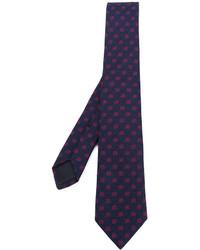 Corbata azul marino de Gucci