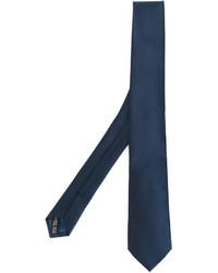 Corbata Azul Marino de Salvatore Ferragamo