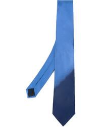 Corbata azul de Lanvin
