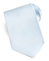 Corbata Celeste