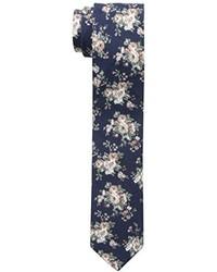 Corbata con print de flores azul marino de Original Penguin