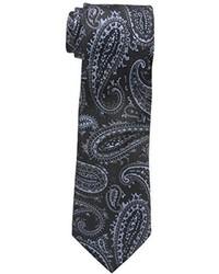 Corbata de Paisley Negra de Sean John