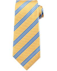 Corbata de rayas horizontales amarilla