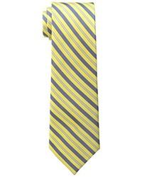 Corbata de rayas verticales naranja de Haggar