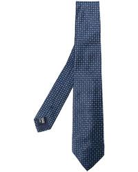 Corbata de seda azul marino de Giorgio Armani