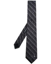 más de moda Últimas tendencias bien fuera x Comprar una corbata estampada negra: elegir corbatas ...