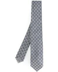 Corbata de seda gris de Brioni