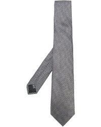 Corbata de seda gris de Cerruti