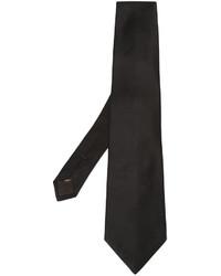 Corbata de Seda Negra de Canali