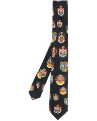Corbata de Seda Negra de Dolce & Gabbana