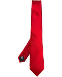 Corbata de seda roja de Lanvin