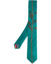 Corbata de Seda Verde Azulado de Paul Smith