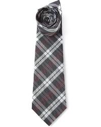 Corbata de Tartán Gris de Paul Smith