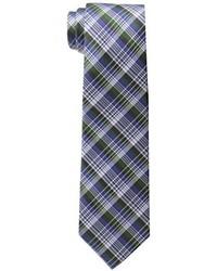 Corbata de tartán verde de Ben Sherman
