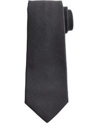 Corbata en gris oscuro