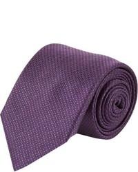 Corbata en violeta