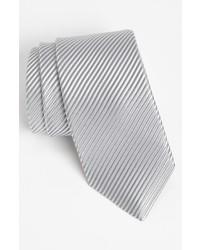 Corbata plateada