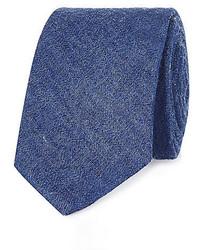 Corbata vaquera azul