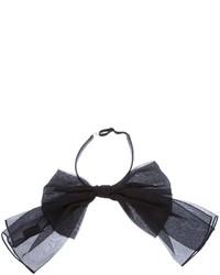 Corbatín negro de Saint Laurent