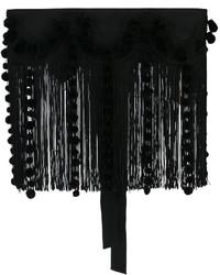 Correa bordada negra de No.21