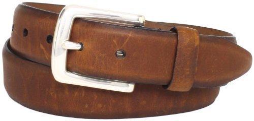 Correa de cuero marrón de Allen Edmonds