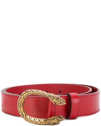 Correa de Cuero Roja de Gucci