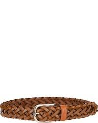 Correa de cuero tejida marrón de Les Copains