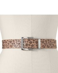 Correa de leopardo marrón claro