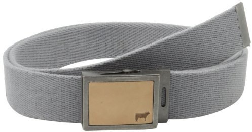 Correa de lona gris de Will Leather Goods