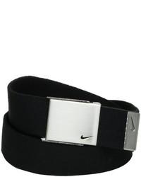 Correa de lona negra de Nike
