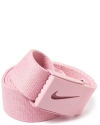 Correa de lona rosada de Nike