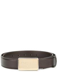 Correa marrón de Dolce & Gabbana