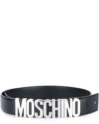 Correa negra de Moschino