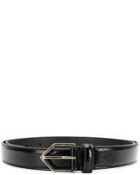 Correa negra de Saint Laurent