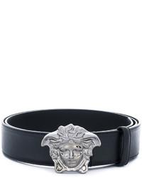Correa negra de Versace