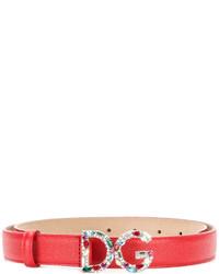 Correa Roja de Dolce & Gabbana
