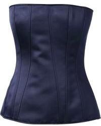 Corsé Azul Marino de Givenchy