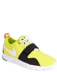 Deportivas amarillas