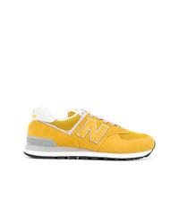 Deportivas amarillas de New Balance