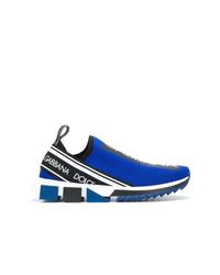 Deportivas azules de Dolce & Gabbana
