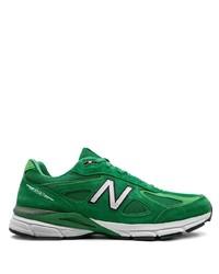 Deportivas de ante verdes de New Balance