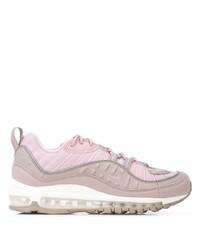 Deportivas de cuero rosadas de Nike