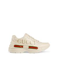 Deportivas en beige de Gucci
