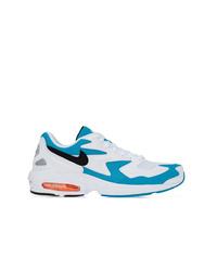 Deportivas en blanco y azul de Nike